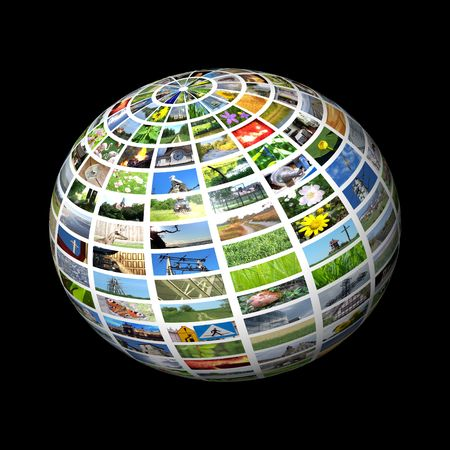 multimedia sphere Stock Photo - 5567940