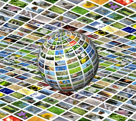 multimedia sphere Stock Photo - 5567947