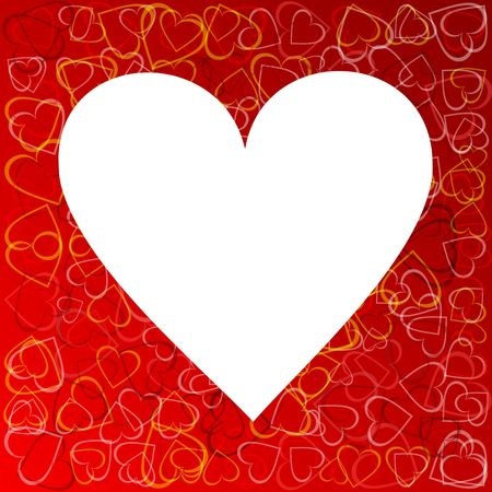 valentines background with heart Stock Photo - 5568017