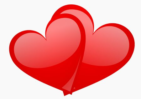 valentines background with hearts Stock Photo - 5567990