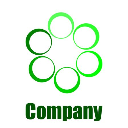 green environmental company logo Stock Photo - 5713849
