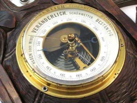 forniture: old barometer