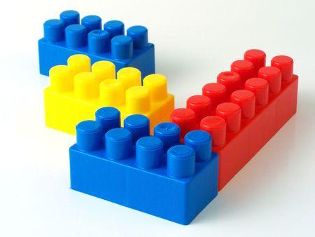 plastic toy bricks Stock Photo - 5765557