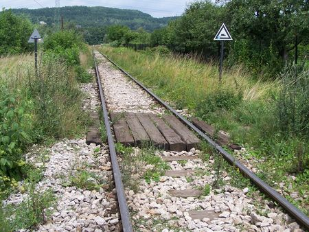 rail tracks photo