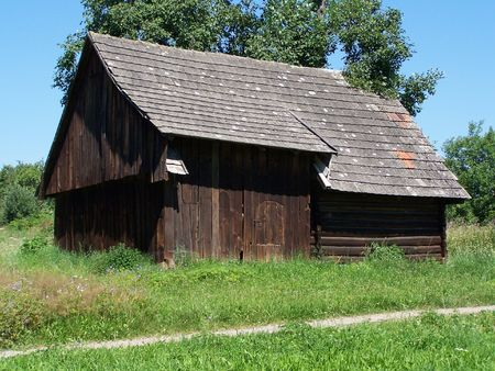 wooden barn  Stock Photo - 5766052