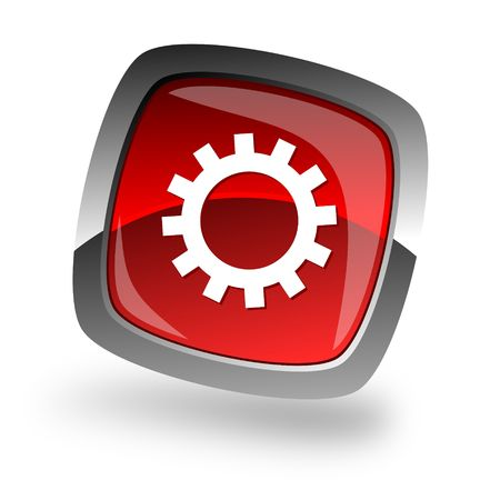 gear internet icon photo