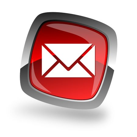 email contact: e-mail internet icon Stock Photo