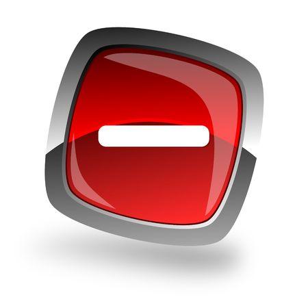 minus internet icon Stock Photo - 6206146