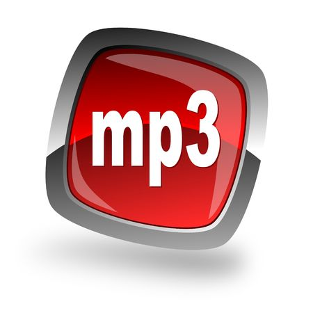 pushbuttons: mp3 file internet icon