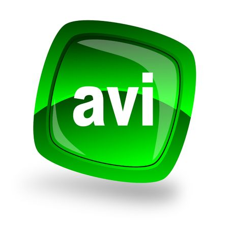 avi: avi file internet icon