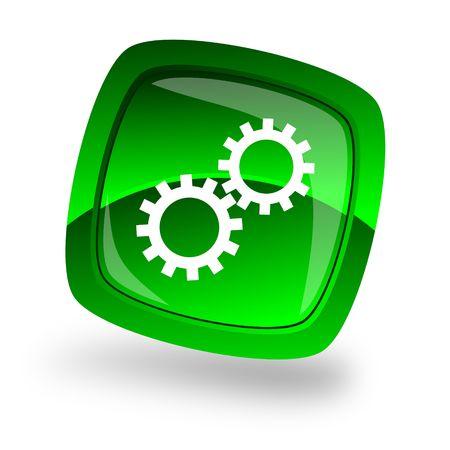 gear internet icon Stock Photo - 6402072