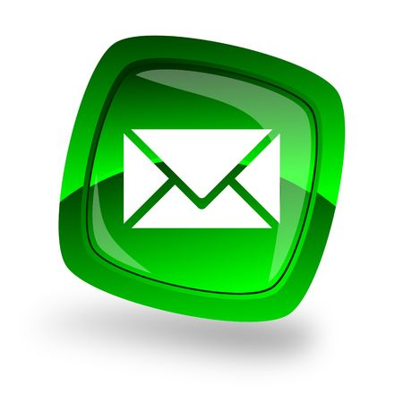 contact us business: e-mail internet icon Stock Photo
