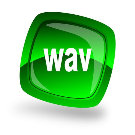 wav file internet icon photo