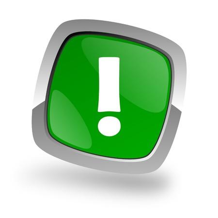 warning icon Stock Photo - 7972293