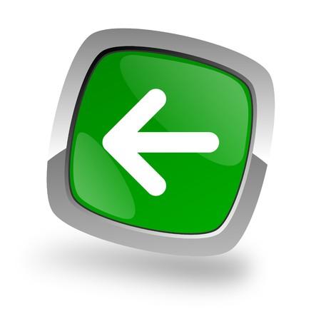 left arrow icon Stock Photo - 7972301