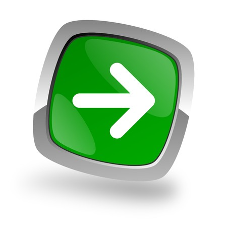 right arrow icon Stock Photo - 7972299