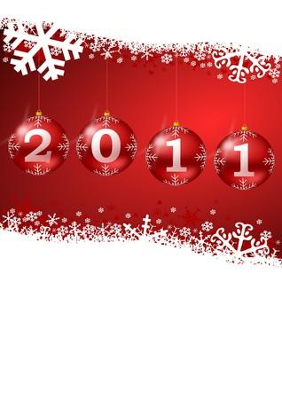 silvester: 2011 new year illustration