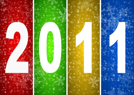 2011 new year illustration Stock Illustration - 8334408