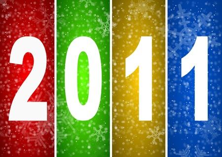 2011 new year illustration Stock Illustration - 8334408