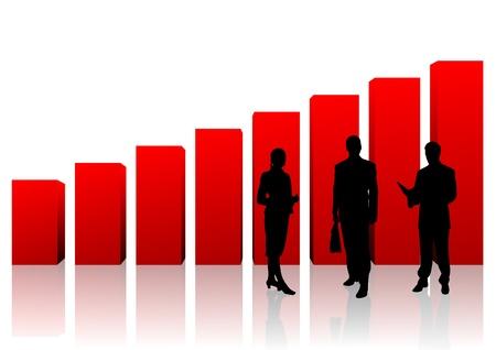 businessteam: business team Stock Photo