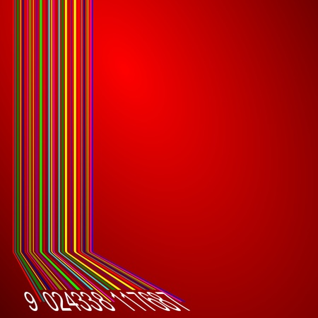 barcode abstract background Stock Photo - 9045295