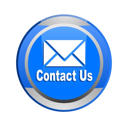 e-mail glossy button Stock Photo - 9045237