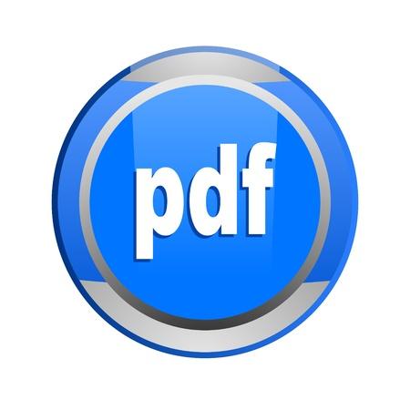 icona: pdf document glossy icon
