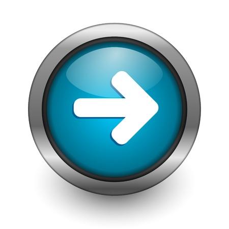 right arrow: right arrow button