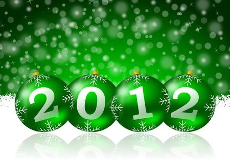 2012 new year Stock Photo - 9669144