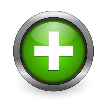simbolo medicina: icono de ayuda