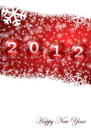 2012 happy new year Stock Photo - 9669181