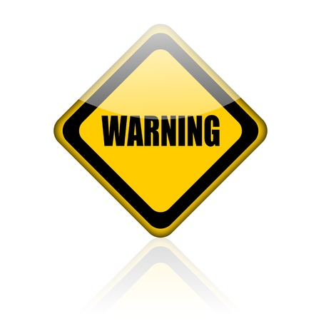 warn: warning sign