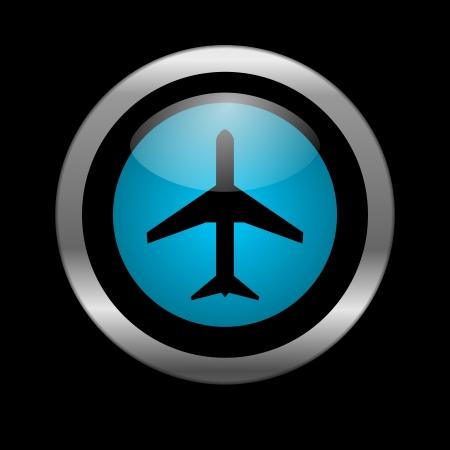 plane icon Stock Photo - 10026481