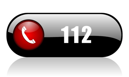 112 phone number banner
