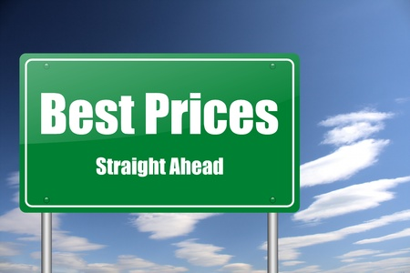 best prices ahead traffic sign photo