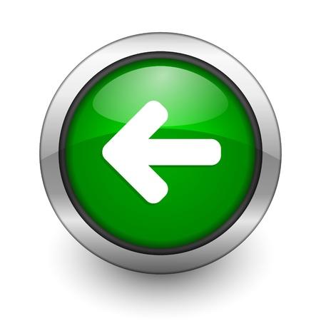 coolness: arrow green aqua button