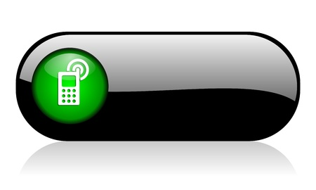 phone button: mobile icon