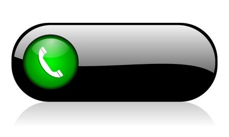 klick: Telefon-Symbol Lizenzfreie Bilder