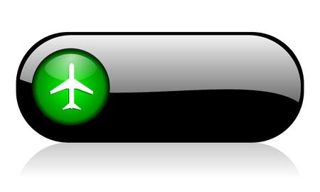 plane icon Stock Photo - 10128417