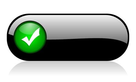 validation: validation icon Stock Photo