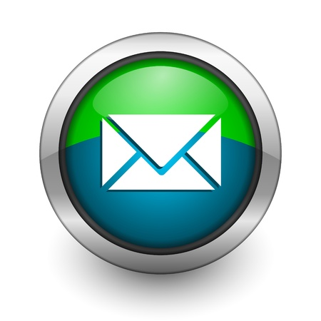 click here: e-mail icon Stock Photo