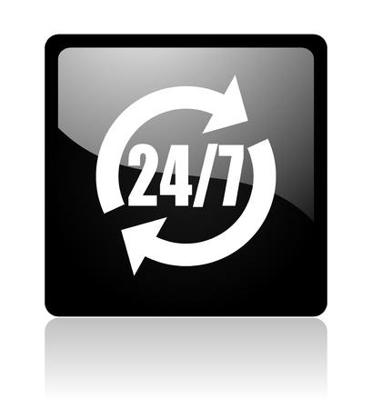 24 for 7 icon photo
