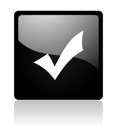 validation icon Stock Photo