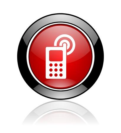 mobile icon Stock Photo - 10478146