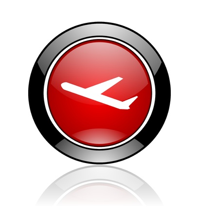 departures icon Stock Photo - 10478121