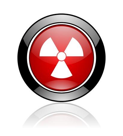 radiation icon Stock Photo - 10478122