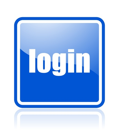 login icon Stock Photo - 10515905
