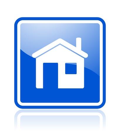 home icon Stock Photo - 10515903