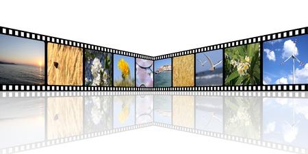 movie background Stock Photo