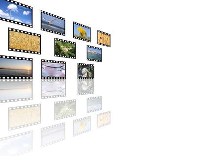 multimedia background photo